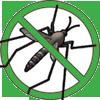 Kills mosquitoes